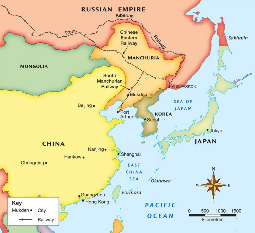 Causes Of World War II Japanese Militarism APHSLinks - Japan map 1500